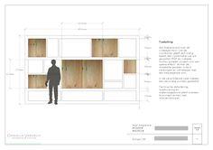maatwerk kastenwand vakkenkast_1 Tv Wall Design, Tv Unit Design, House Design, Diy Furniture Projects, Furniture Layout, Furniture Design, Bookcase Wall, Architectural Section, Wall Boxes