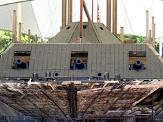 Historic 1862 USS Cairo River Gunboat, Vicksburg, Mississippi