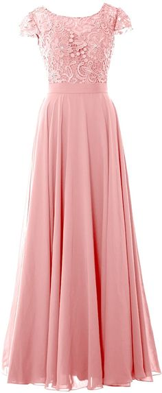 Amazon.com: MACloth Women Mother of Bride Dresses Cap Sleeves Wedding Bridesmaid Rehearsal: Clothing Blush Pink Dresses, Cap Dress, Sweet Dress, Coral Pink, Wedding Bridesmaids, Cap Sleeves, Formal Dresses, Bride Dresses, Clothes