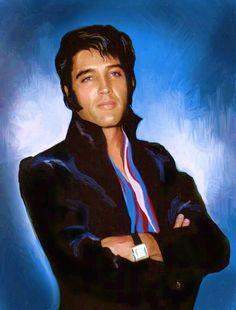 So BEAUTIFUL!!!! #ElvisSerendipity #Elvis #Presley Elvis Presley the King of Rock and Roll