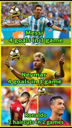 Messi Neymar Ronaldo who ,s the winner Funny Soccer Memes, Sports Memes, Funny Jokes, It's Funny, Messi Vs Ronaldo, Messi And Neymar, Messi 10, Lionel Messi, Soccer Problems