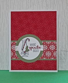 Christmas spirits and holiday wishes! This Christmas card is loaded with Christmas cheer with the festive Christmas drink with a candy cane and