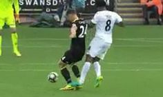 """Chelsea defender GARY CAHILL blasts referee Andre Marriner after trip in build-up to Swansea goal: """"You could be sat on the moon and see it""""..."""