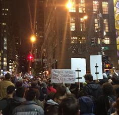 Social Justice Warriors Besiege Trump Tower - Live Feed