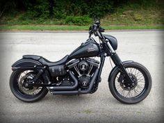 CUSTOM 2013 Harley-Davidson Street Bob FXDB - Harley Davidson Forums #harleydavidsoncustommotorcycles #harleydavidsonsoftailstreetbob