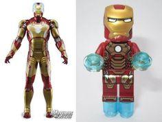 LEGO Iron Man 3 Mark 42 Minifigure