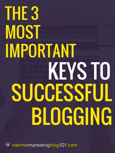 The 3 Most Important Keys To Successful Blogging (You Will Fail Without These 3 Blogging Keys!) Make Money Writing, Make Money Blogging, How To Make Money, Blogging Ideas, Welcome On Board, Dry Humor, Creating A Blog, You Must, How To Start A Blog