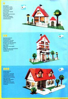 Oude LEGO® instructies | letsbuilditagain.com