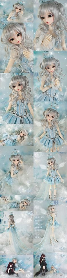 (AS Agency)BJD Dina Girl 42cm Ball-Jointed Doll_MSD size doll_Angell Studio_DOLL_Ball Jointed Dolls (BJD) company-Legenddoll