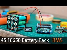 Make your own Lithium battery Pack Diy Electronics, Electronics Projects, Electronics Components, Off Grid Batteries, 18650 Battery, Lead Acid Battery, Diy Car, Car Cleaning, Packing
