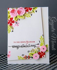 For the Bride & Groom - Congratulations (via Bloglovin.com )