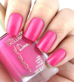 L'Oreal Collection Exclusive Pinks Collection Nail Polish; Doutzen's Pink