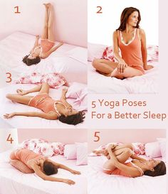 5 Yoga Poses for a Better Sleep:  http://www.fitnessmagazine.com/workout/yoga/poses/yoga-routine-before-sleep/?page=1 ähnliche tolle Projekte und Ideen wie im Bild vorgestellt findest du auch in unserem Magazin . Wir freuen uns auf deinen Besuch. Liebe Grüße