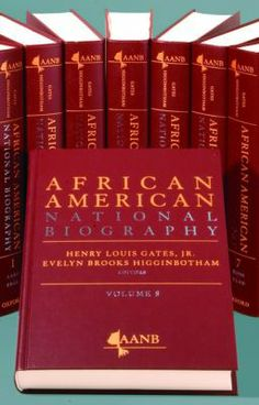 An eight volume reference set that profiles more than 4000 African Americans throughout history. The African American National Biography by editors in chief, Henry Louis Gates, Jr., and Evelyn Brooks-Higginbotham