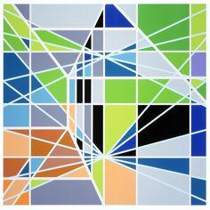 Pools Suntrust [Miami], 2003, 289 x 289 cm