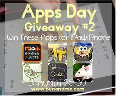Ben and Me: Apps Day Giveaway #2