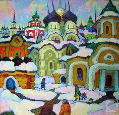 Oil Painting by Russian Artist Valery Veselovsky