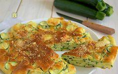 Torta di zucchine light, ricetta leggera facile e veloce Quiches, Light Recipes, Wine Recipes, Cooking Recipes, Vegetable Recipes, Vegetarian Recipes, Healthy Recipes, Cena Light, Savoury Dishes