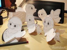 Hattifants Bird family