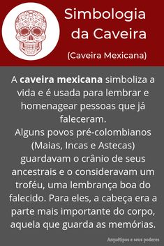Caveira Mexicana Wicca, Magick, Witchcraft, I Ching, Baby Witch, Occult, Tarot, Spirituality, Positivity