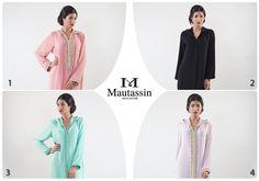 Petit aperçu de la collection spéciale RAMADAN de Djellabas MAUTASSIN ... Quelles sont vos modèles préférés pour ce mois sacré ? Les djellabas simples ou perlées ?  #MAUTASSIN #Collection #Ramadan #Djellabas #hautecouture #handmade