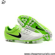 2013 Nike Total 90 Shoot IV AG White Electric Green