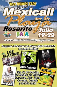 Rosarito Beach Baja California Mexico: Mexicali en la playa 2012