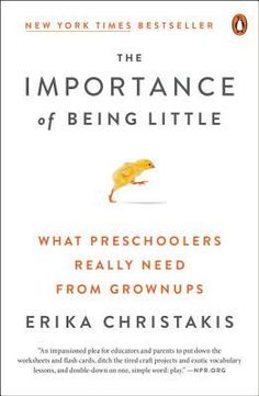 In her new book, The Importance of Being Little, Erika uses academic research and personal experience to shine a light on America's broken education system. Preschool Education, Preschool Curriculum, Early Education, Childhood Education, Homeschooling, Early Learning, Kids Learning, Little Learners, Simple Words