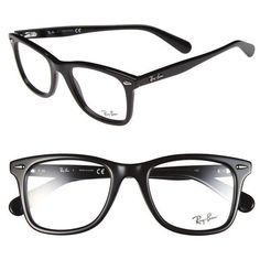 Ray Ban Black And Pink Eyeglasses