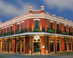 Muriel's Jackson Square (Cajun, French Quarter) 801 Charles Street New Orleans, LA 70116 504-568-1885 http://www.muriels.com ask for table on second floor balcony Brunch too
