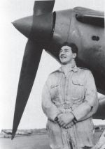 Stuart Walch with a 151 Squadron Hurricane, 1939  #australiansinthebattleofbritain #kristenalexander #pilots #luftwaffe #blackandwhite #photography #warhistory #squadronhurricane