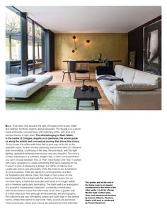 I'm reading page 262 of Elle Decor Italia - April 2015 - English