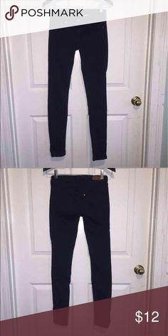 Skinny low waist dark blue jeans Skinny low waist dark blue jeans H&M Jeans Skinny