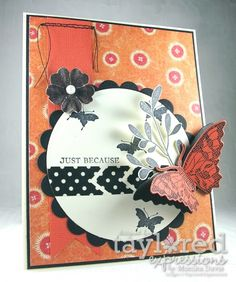 Just because Card by Monika Davis #Cardmaking, #JustBecause