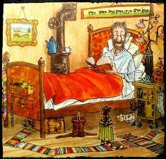 Children's Book Illustration, Character Illustration, Christmas Art, Cat Art, Childrens Books, Folk Art, Artsy, Drawings, Artwork