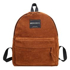 3b299d6e7d MengHuo new Women Backpack youth korean style shoulder bag Solid Vintage  School Bag Backpacks for Teenage
