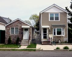 Houses in Midland Beach, Staten Island.