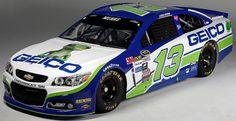 Jayski's® NASCAR Silly Season Site - 2016 NASCAR Sprint Cup Series #13 Paint Schemes
