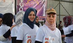 ماراثون ومسيرة نسائية لأول مرة فى الموصل دعما لحقوق المرأة: شاركت نحو 300 شابة وفتاة ترتدى غالبيتهن قمصانا بيضاء الخميس باول ماراثون سنوى…