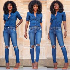 Double Denim! Link in bio for additional details...