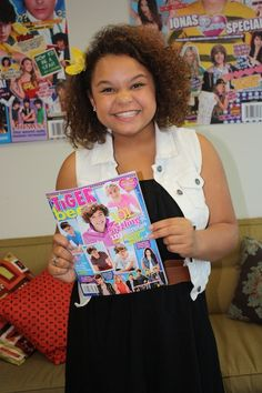 """Rachel Crow recently visited the BOP and TB offices...read what she spilled about touring with BTR and the inspiring message behind """"Mean Girls!"""""""