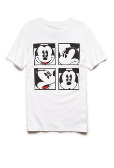 Mickey Mouse Tee | 21 MEN #GraphicTee #Mickey #21Men