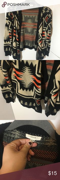 Aztec cardigan Smoke and pet free home Sweaters Cardigans
