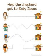 """This is a Preschool Pack featuring many different Nativity printables for you to use with your tot or preschooler during the Christmas season.""      @Amy Harris-could  be useful"
