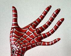 Spider-Man Hand Jewelry Holder Organizer