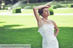 Robe de mariée, collection Andalouse   Création Hanael Couture©   Crédits photo : Frédéric Noyon