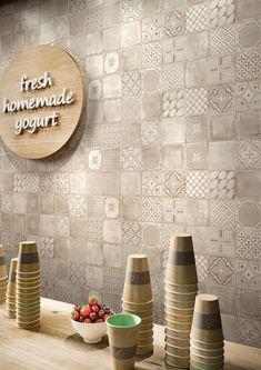 Materika piastrelle in ceramica Marazzi_6705 o anche cemento effetto satinato