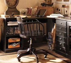 indiana jones inspired decor | Decorating an Office with Old World Charm - Being