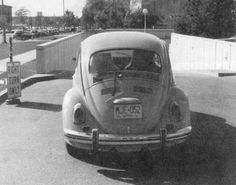 "dichotomization: "" The Volkswagen Ted Bundy drove at the time of his arrest in Salt Lake City, Utah - 8/16/75. """