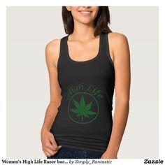 Women's High Life Razor back Tank